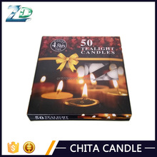 100pcs cheap white unscented pressed tea light candles for Sri Lanka
