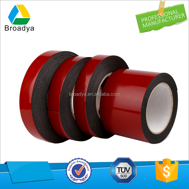 Guangzhou tape manufacturer double sided face eva foam adhesive tape for furniture