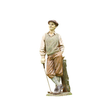 Life Size Resin Standing Tall Golfer Statue