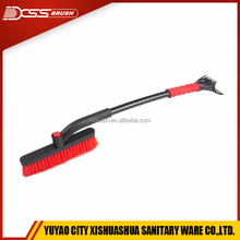 Full Circle rotated Automobile Snow Brush With Ice Scraper|Strong And Durible Vehicle Snow Broom