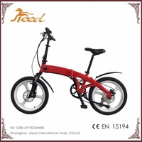 2017 new style mini electric bike made in china for outdoors