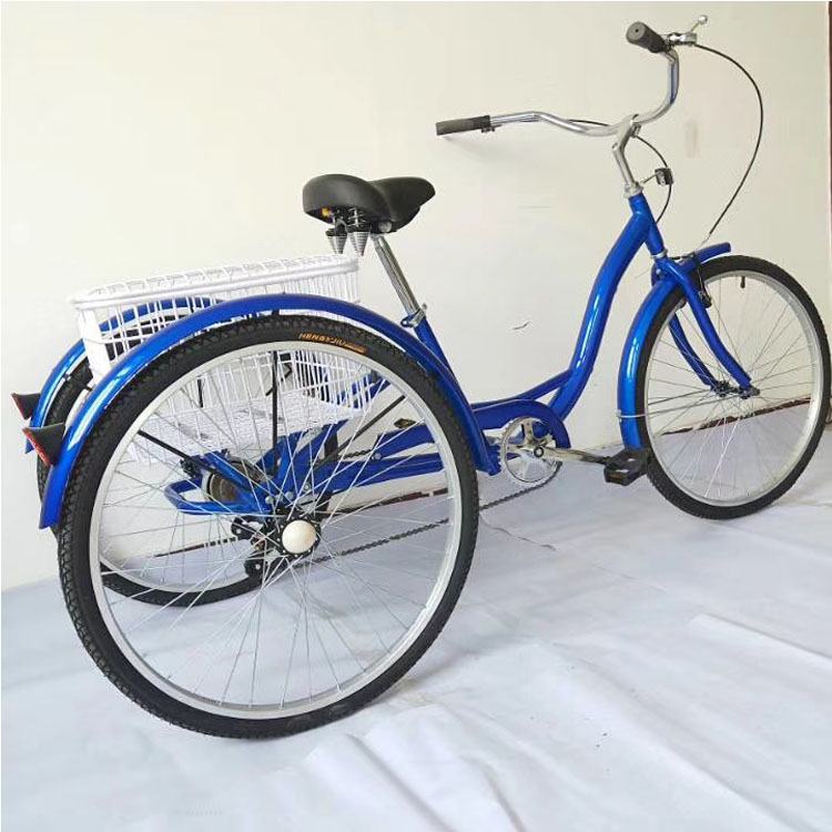 Hot <strong>sale</strong> three wheel electric tricycle adult/adult tricycle bike 26 in/adult tricycle dual seat