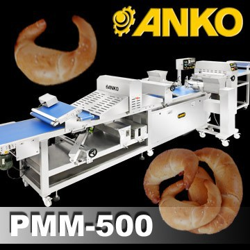 Anko Mixing Complete Industrial Automatic Bread Bakery Equipment