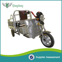 Open type battery electric tricycle for cargo loading