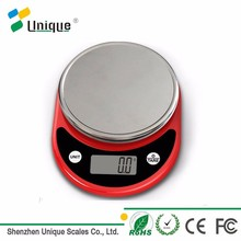 5kg/11lb Nutrition Balance Customized Color Anti-slip Feet Mini Electronic Digital Grams Food Weight Scale In Kitchen