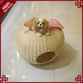 Apple shape washable non-smelly garden home use cat dog bed house pet display cage