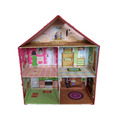 wholesale kids doll house/top fashion baby doll house/popular children toy doll