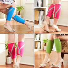 Hot selling nylon compression calf sleeve to keep slim