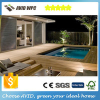 100-25 outdoor reclaimed flooring wpc decking interlocking composite tiles terrace board