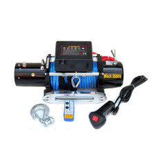 4x4 winch Synthetic Rope Winch - 9500 lb. Load Capacity