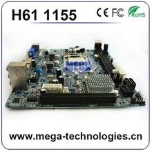 Different types of motherboard h61 1155 support i3/i5/i7