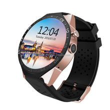 KW88 Android 5.1 smart watch phone wifi 3G support 512M RAM 4G ROM heart rate watch phone