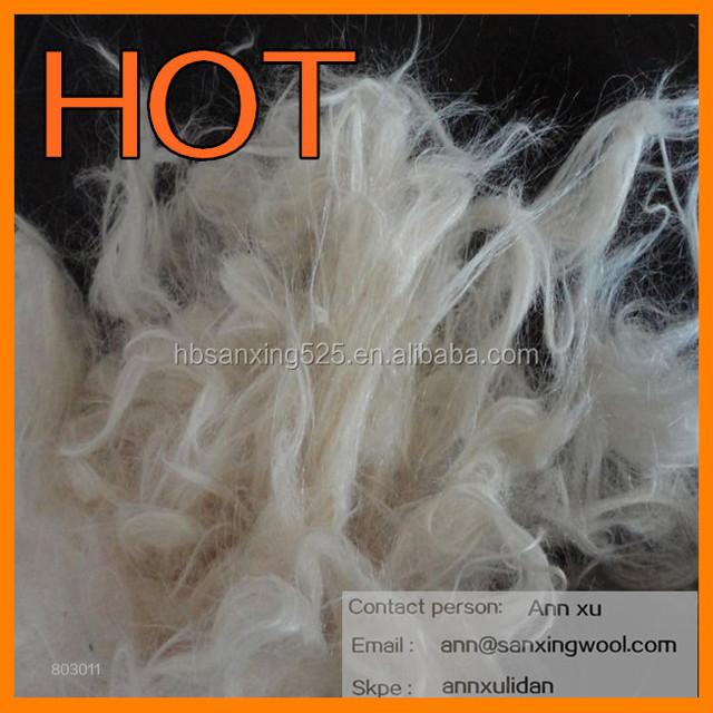 goat hair waste virgin goat hair