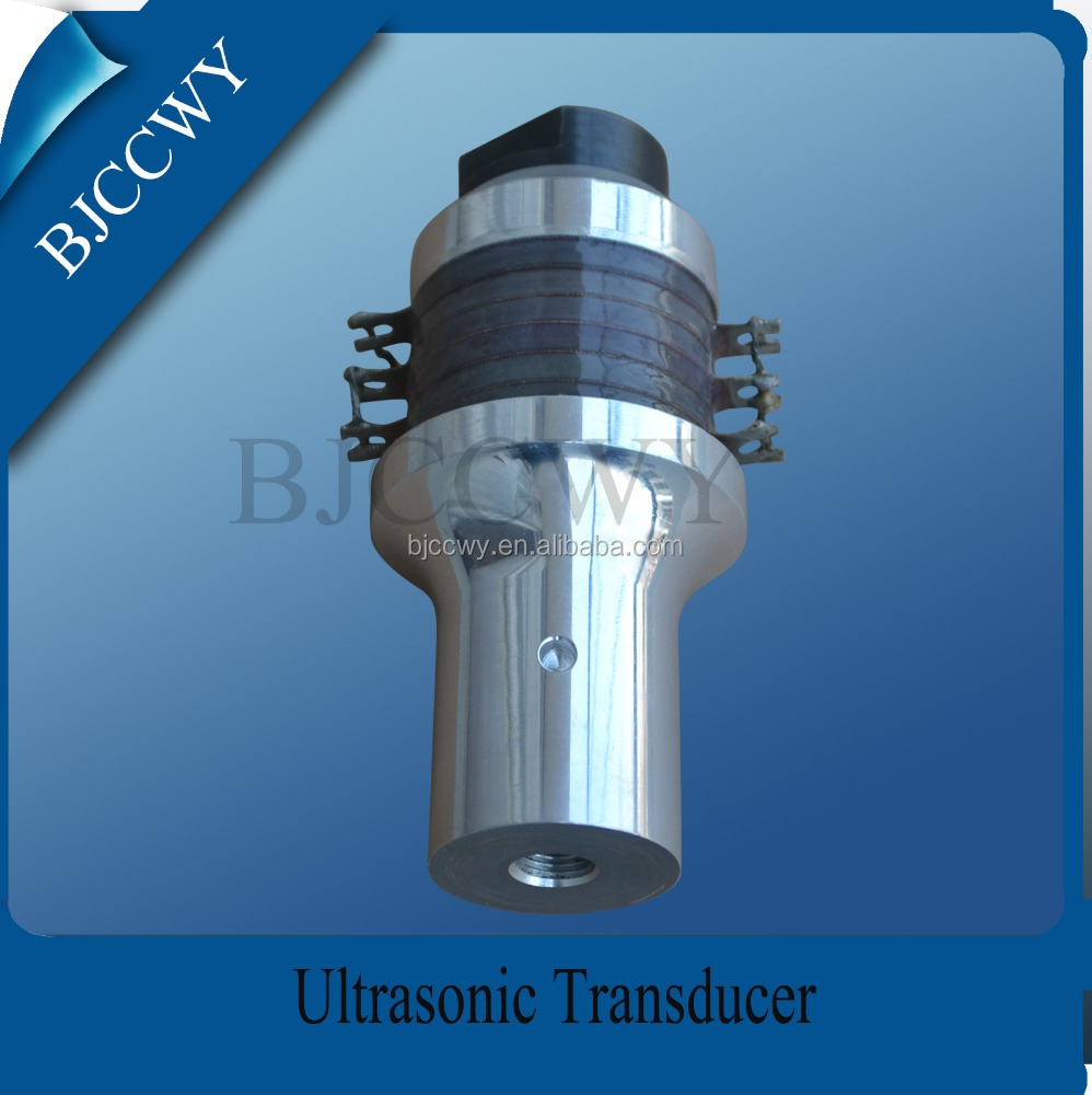 Ultrasonic piezoelectric transducer for medical machine