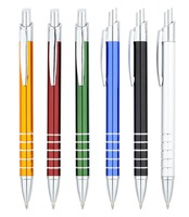 Promotion customized size the inkless metal pen