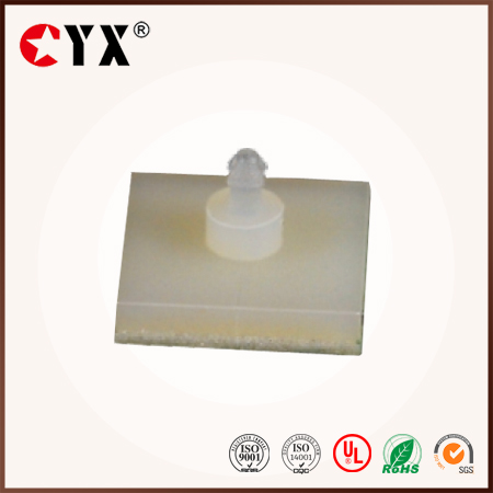 ROHS Plastic PCB spacer support with self-dhesive 3M glue