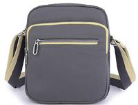 Nylon messenger cross body shoulder bag