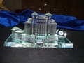 crystal building model crystal gift crystal glass