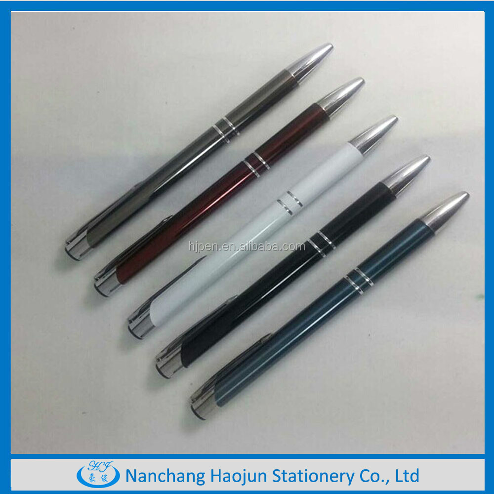 Political office logo cheap metal promotions pens 1000