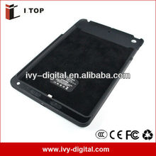 Newest! IB047 6800mAh Battery cover case for ipad mini