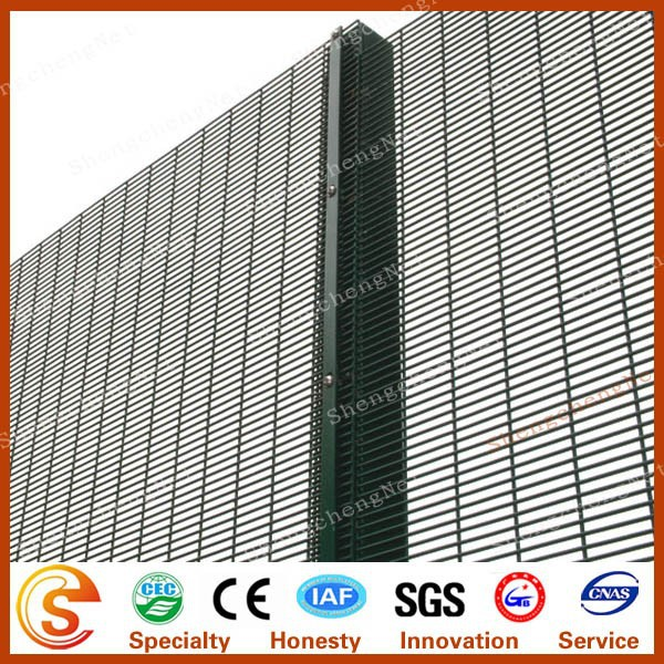 Outdoor security cheap solid galvanized sheet security metal fence panel