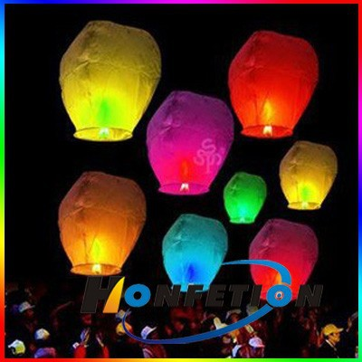 17g double copy fireproof paper chinese sky lantern