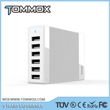 TOMMOX60W 6-Port USB desktop valet charging station