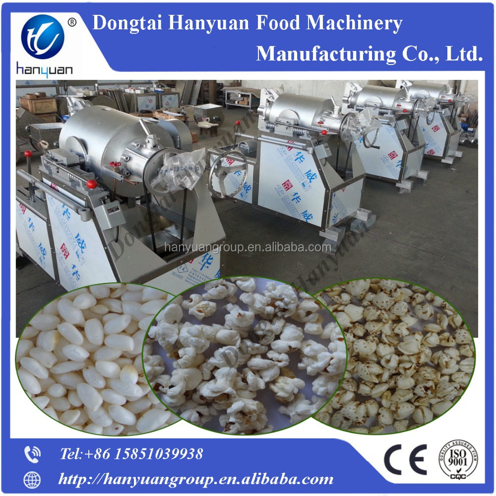 Puffed rice cake machine, puffed rice making machine