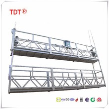 Double rack working platform/suspended platform/cradle/swing stage/gondola