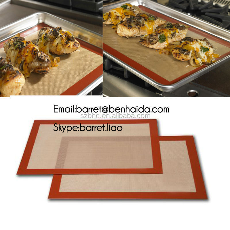kitchen heat-resistant mat,nonstick silicon baking mat,silicone baking anti-slip mat