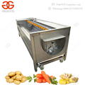 High Quality Automatic Potato Washing And Peeling Machine Ginger Washing Machine