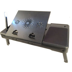 NBT89 Multipurpose hospital bed tray with exhaust fan