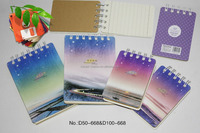 school stationery spiral notebook wholesale free samples school supply