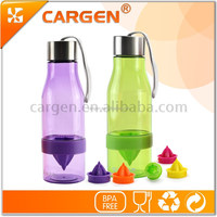 500ml OEM plastic clear lemon juice infuser bottle