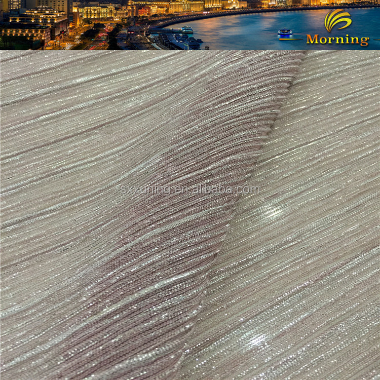 Made in China superior quality metallic gold mesh fabric