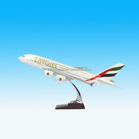 TANG DYNASTY AIR BUS A380 Emirates Airline Resin Model Plane