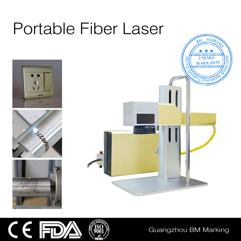 Portable metal fiber laser marking machine,steel laser engraving machine manufacturers