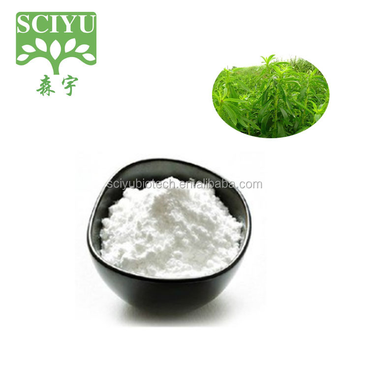 Hot sales natural sweeter stevioside powder 98% stevioside