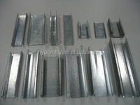 Galvanized light steel keel metal studs and tracks