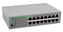 Allied Telesis AT-FS716L 16-Port Unmanaged Fast Ethernet Switch, Eco-Friendly
