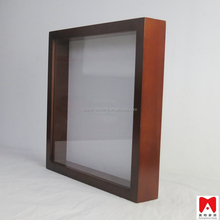 China manufacture direct exporter, Unique MDF black board magnetic whiteboard 8x8 shadow box frame wall hanging photo frames