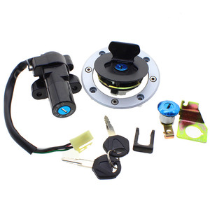 wholesale price direct sale billet aluminum CNC alloy GS500 ignition switch lock set for motorcycle