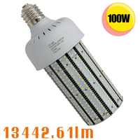 347V Canada 480V US 100W LED Corn Light Retrofit 400W Parking Lot Shoebox Bulb E39 6000K 6500K Daylight