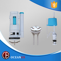universal plastic toilet cistern flushing fittings