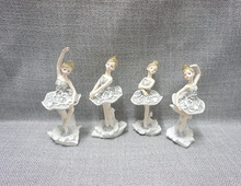 Party decoration ballet dancer statue