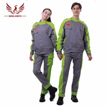 Good quality cheap cotton working safety coveralls suit uniform