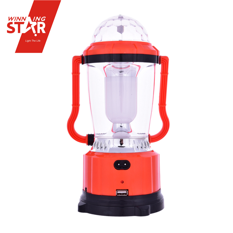 Battery Lanterns Multifunctional Campng Lamp Rechargeable Solar Lantern