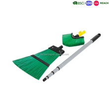 11year BSCI professional factory telescopic PP garden broom ,PAHS out door sweep brush, yard brush garden brush manufacturing