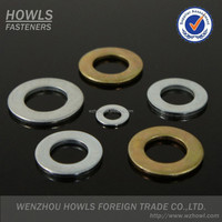 High quality DIN125 carbon steel flat washers