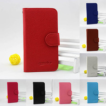 made in china wallet leather flip cover case for huawei ascend G615 G600